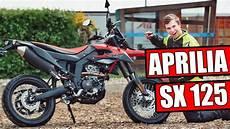 aprilia sx 125ccm supermoto 2019 motorrad test