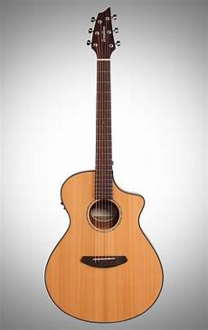 breedlove acoustic guitar breedlove pursuit concert acoustic electric guitar with gig bag