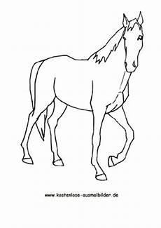 Ausmalbilder Pferde Wendy Ausmalbild Pferd 6 Zum Ausdrucken