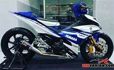 Mx King Modif Touring by Foto Modifikasi Jupiter Mx King Konsep Moto Gp Movistar