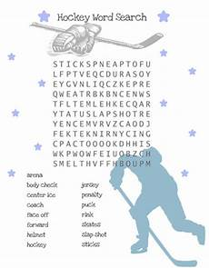 hockey word search for kids printable treats com hockey word search for kids printable treats com