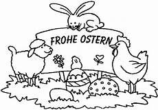 Malvorlagen Frohe Ostern Malvorlagen Ausmalbilder