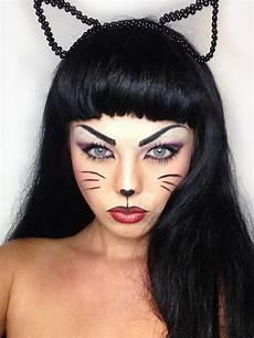 katze schminken erwachsene cat makeup for costumes costume make up