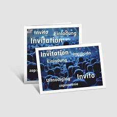 einladungskarten 85x55mm im querformat drucken