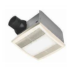 broan nutone qt series bathroom bath exhaust fan light combo 110 cfm qtr110l ebay