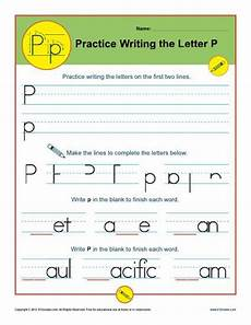 letter p worksheets printable handwriting worksheet
