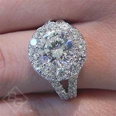 gabriel quot coco quot large halo diamond engagement ring ben garelick