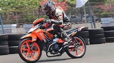 Modifikasi Smash 110 Road Race by Motor Sport Gambar Modif Suzuki Smash 110 Keren Terbaru 2014