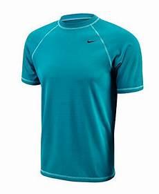 nike mens solids sleeve hydro rash guard color energy size large aqua swim