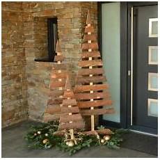 Weihnachtsdeko Aus Holz Selbst Gemacht - weihnachtsb 228 ume aus holz g 252 nstig kaufen ebay