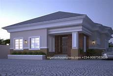 6 clean and simple home designs for comfortable 4 bedroom bungalow ref 4012 nigerianhouseplans