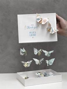 Schmetterlinge Aus Geld Falten Diy Geldgeschenke