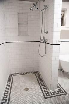 Subway Tile Bathroom Floor Ideas Subway Tile Shower Traditional Bathroom Minneapolis
