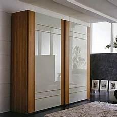 2017 cheap custom size wardrobe closet with sliding door