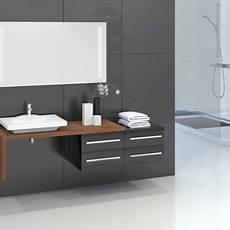 Badmöbel Set Aufsatzwaschbecken - badm 246 bel set unterschrank waschbecken spiegelschrank