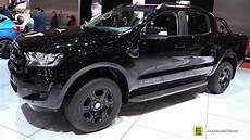 2018 ford ranger limited black edition exterior and