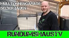 garage aus holz selber bauen m 252 lltonnen garage selber bauen aus holz m 252 lleimer