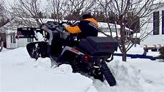 Kimpex Click N Go 2 Snow Plow Is On Can Am Outlander Xt