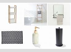 Cheap and Chic Bathroom Accessories and Storage from Kmart