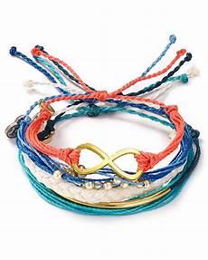 Pura Vida Bracelets Summer Blues Bracelets Set Of 5