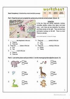 in the zoo worksheet free esl printable worksheets made