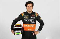 2015 Sergio Perez Signed Race Worn India Formula One