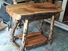 handmade rustic log furniture oak log kitchen island