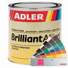 Acryllack Auf Kunstharzlack - brilliant alkyd kaufen adler farbenmeister