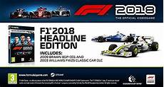 F1 2018 Headline Edition Steam Cd Key F 252 R Pc Kaufen