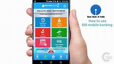 mobile bankinh sbi mobile banking how to use in part 1
