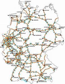 Autobahnen 113072 Autobahn A7 Deutschland Karte