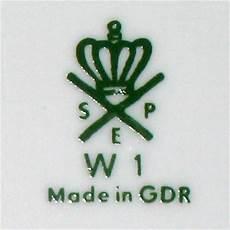 porzellanmarke n mit krone porzellanfabrik spezialporzellan eisenberg spe in