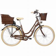 fischer er 1804 s2 damen city e bike nussbraun retro e