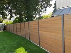 Tomi Wpc Zaun Sichtschutz Gartenzaun Windschutz