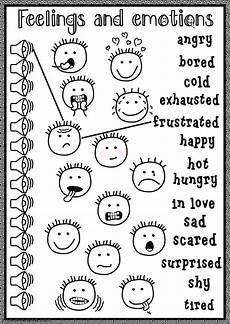 feelings and emotions listening interactive worksheet