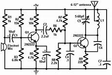 Fm Transmitter Circuit Diagram Schematic by Mini Fm Transmitter Circuit Diagram Lifier Circuit