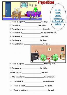 grammar worksheet there is there are with prepositions 25093 prepositions of place interactive and downloadable worksheet check your answers or send