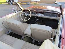 1966 Mustang Convertible Bench Seat 8 Track Radio Power