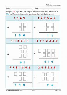 ks2 challenging addition and subtraction teachit primary eyfs ks1 ks2 challenging addition and subtraction teachit primary