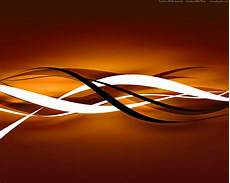Abstract Black Orange Background