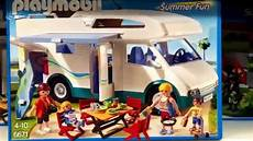 playmobil 6671 familien wohnmobil