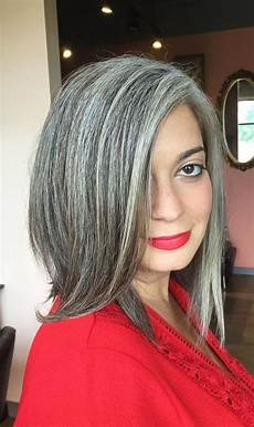 salt and pepper hair styles for woman 15 gorgeous women that totally rock their premature white hair gray hair growing out