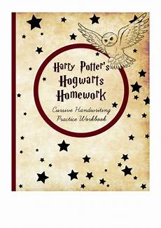 Malvorlagen Harry Potter Cursiva Harry Potter S Hogwarts Homework Pdf Leila Potterhead