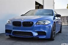 Monte Carlo Blue Bmw F10 M5 Vorsteiner V Ff 107 Wheels