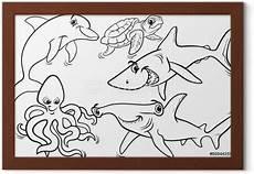 unterwassertiere malvorlagen m