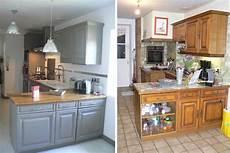 couleur de meuble en bois une cuisine r 233 nov 233 e du beau avec de l ancien home