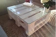 Europaletten Tisch M 246 Bel Aus Paletten