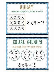 worksheets free 18408 multiplication strategies anchor chart posters anchor charts anchor charts multiplication