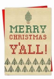 hilarious merry christmas yall christmas card funny folks
