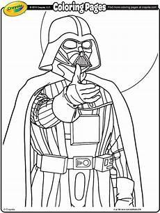 wars darth vader coloring page crayola